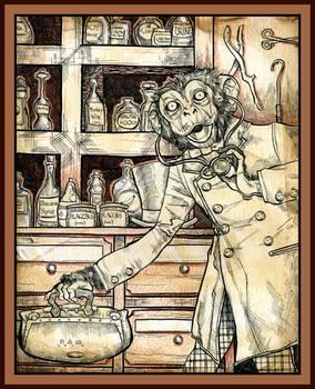 Dr. Monkey Monkey, M.D.