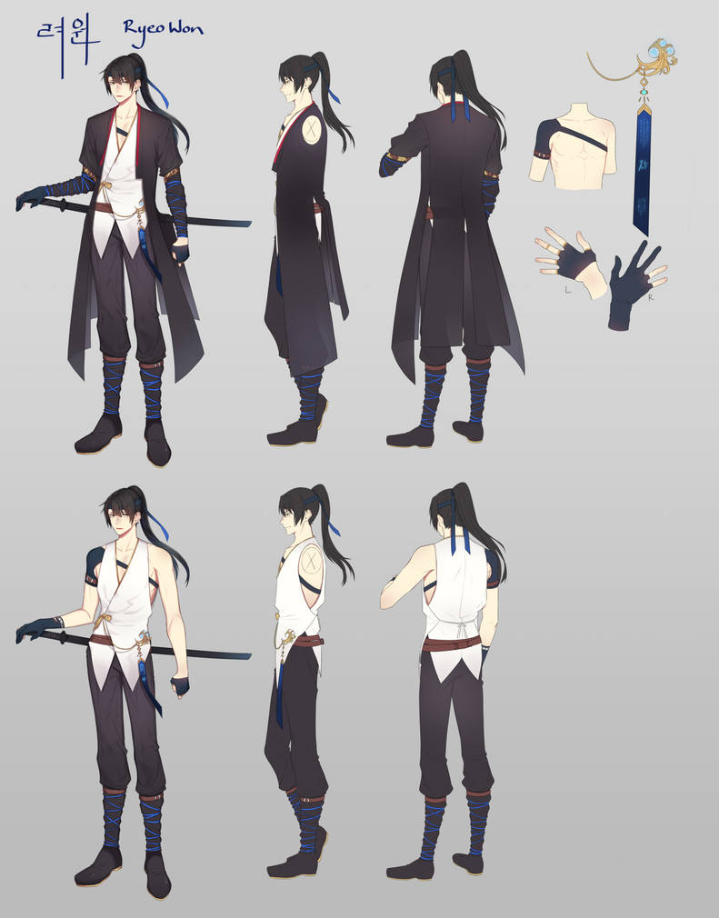 RyeoWon - Time Traveler by tokkiria