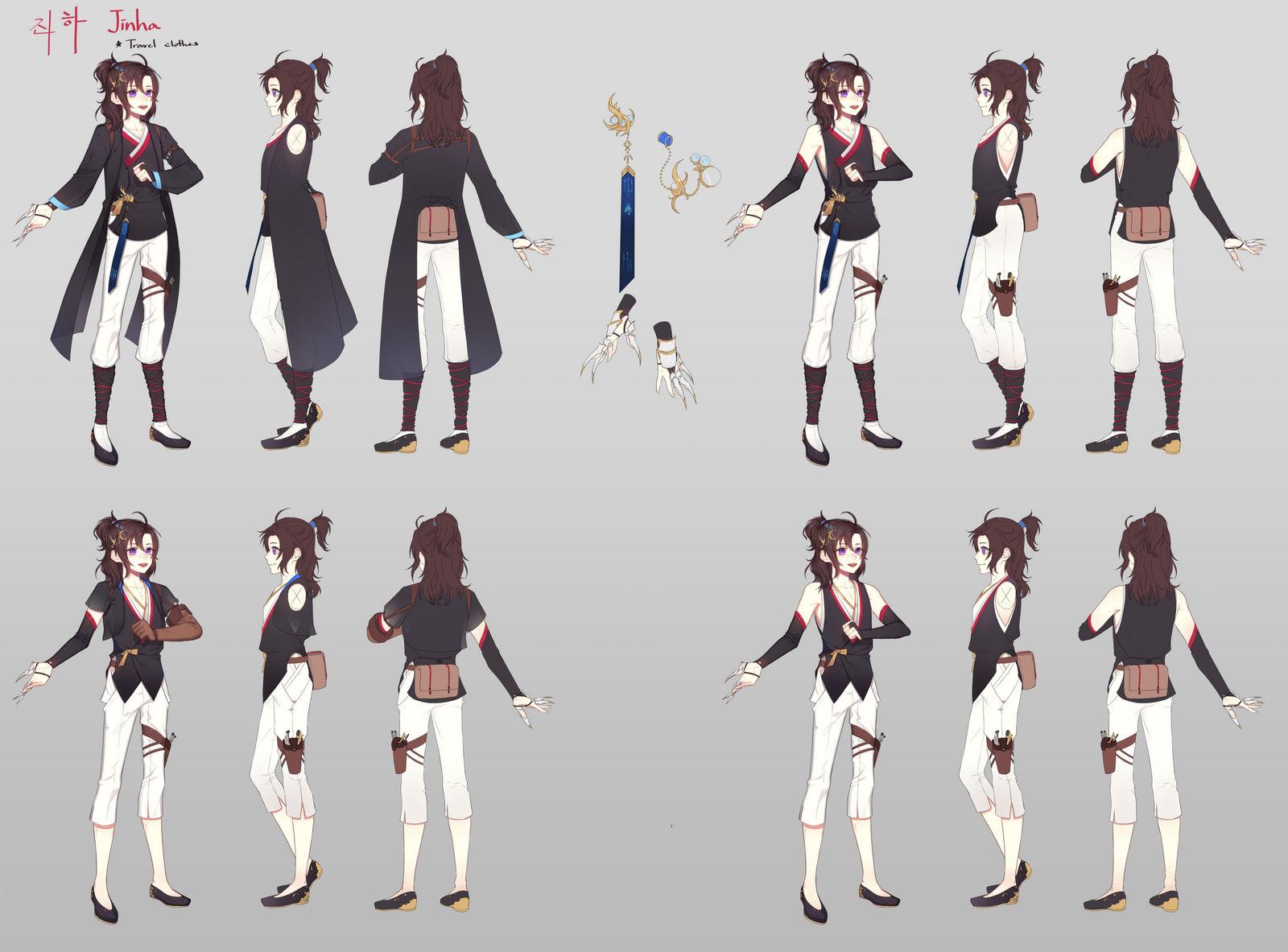 Jinha -  Time traveler by tokkiria