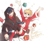 Merry Christmas 2017 by tokkiria