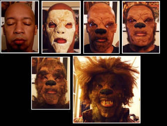 Halloween Makeup: Wolfman