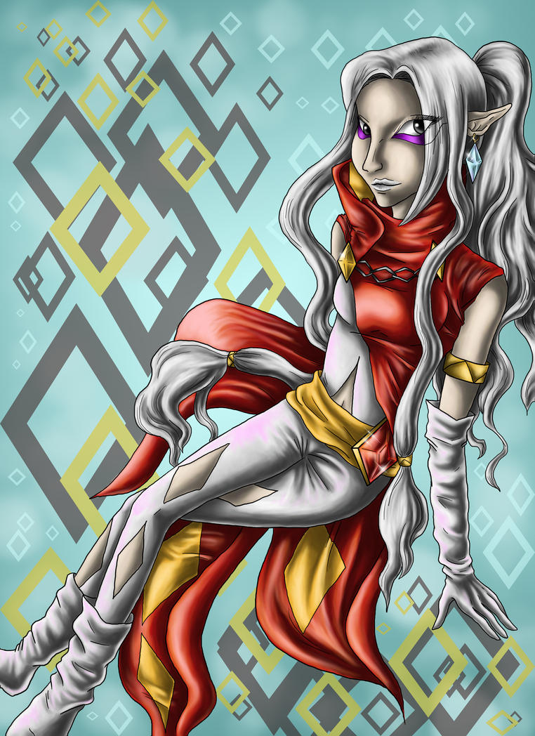 Ghirahime - Queen of Seduction by Saidorak