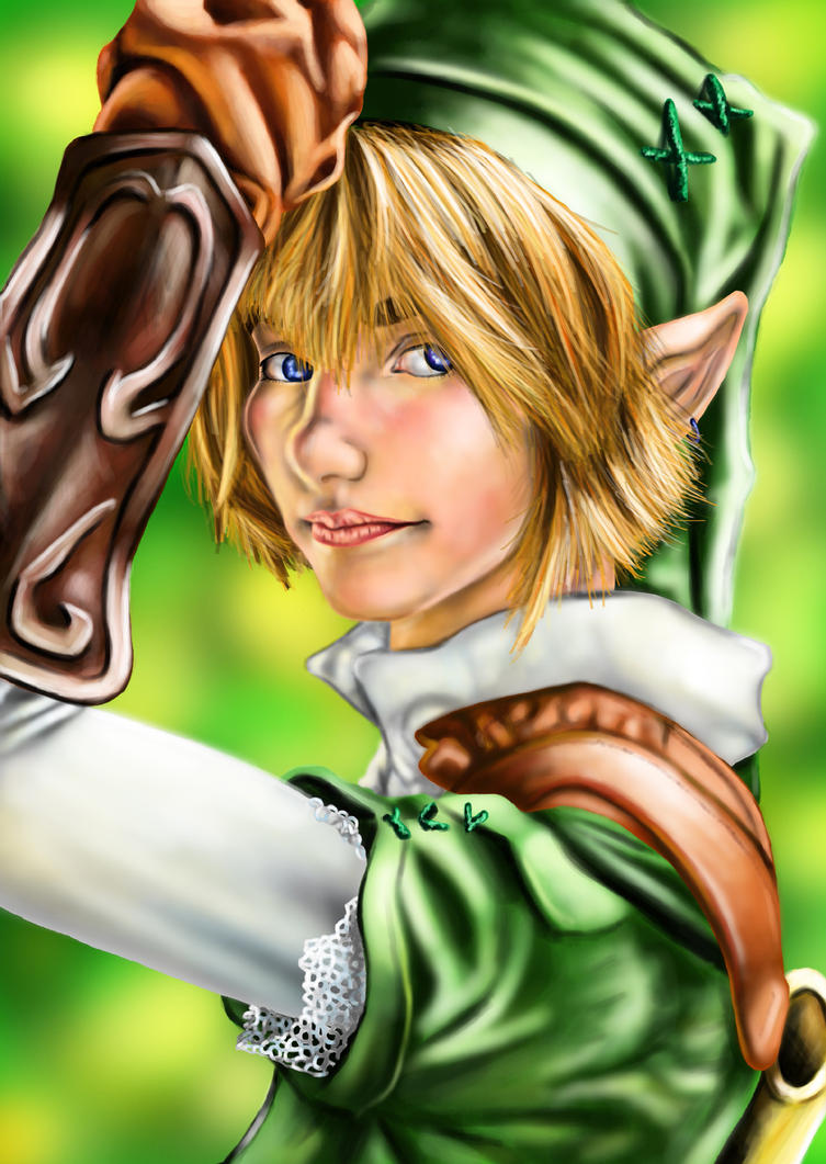 Photoshop - Realistic Link by Saidorak
