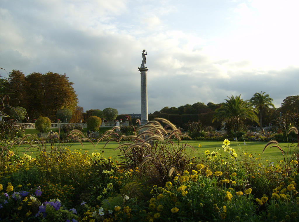Paris jardin du luxembourg by racefox on deviantart for Art du jardin zbinden sa