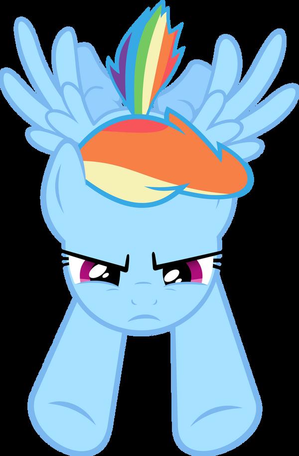 how to draw my little pony rainbow dash flying