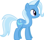 Trixie standing