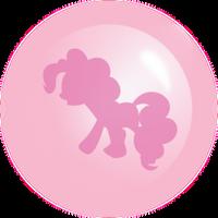 Pinkie Pie Ball Pink by Racefox
