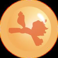 Applejack Ball orange by Racefox