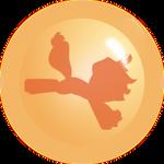 Applejack Ball orange