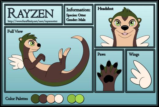 Rayzen Reference Sheet