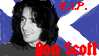 Bon Scott 'stamp' by xDimitri