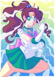 [FANART] Sailor Jupiter [SPEEDPAINT]