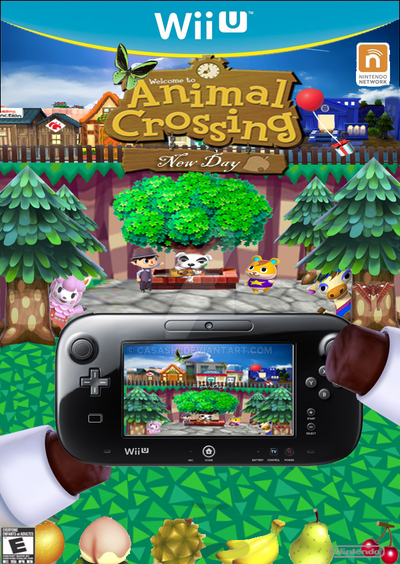 Prototype cover animal crossing wii u by casashi on deviantart for Agrandissement maison animal crossing wii