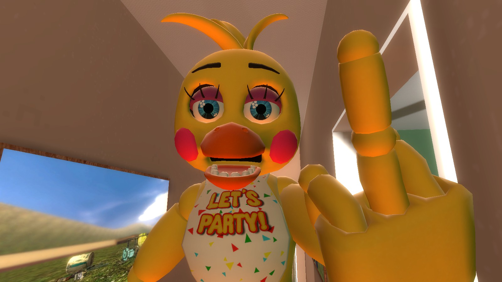 art toy chica wallpaper - photo #4