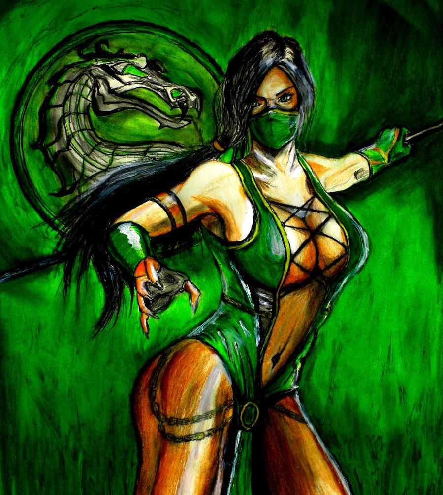 Jade: Mortal Kombat by smokinsteve57