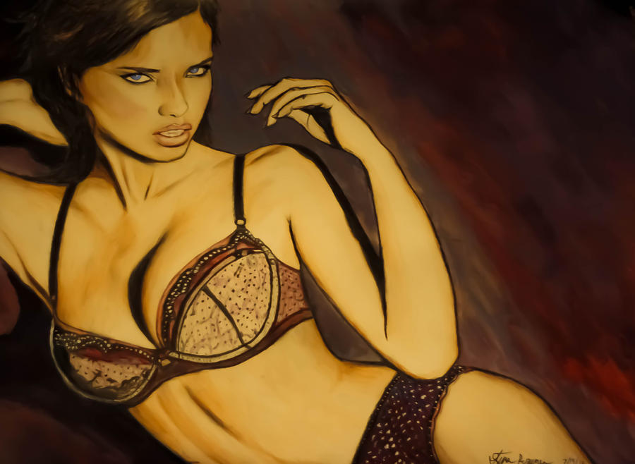 Adriana Lima by smokinsteve57