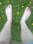 Feet In The Grass