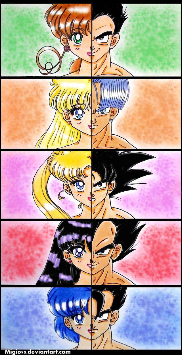 Saiyan VS Sailor