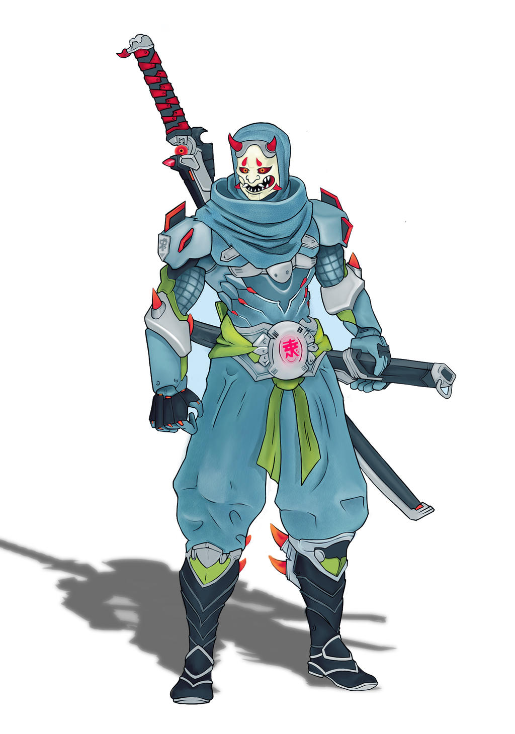 Genji Heroes Of The Storm Skin Overwacth By Oksgraphism On Deviantart And/or just have a dshield. deviantart