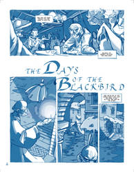 The Days of the Blackbird - Pencils - Pag4