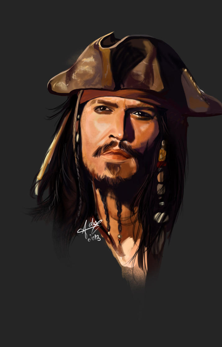Captain Jack Sparrow by AdoraLynn