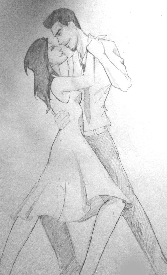 Dance - pencil sketch by AdoraLynn on deviantARTI Love You Pencil Sketches