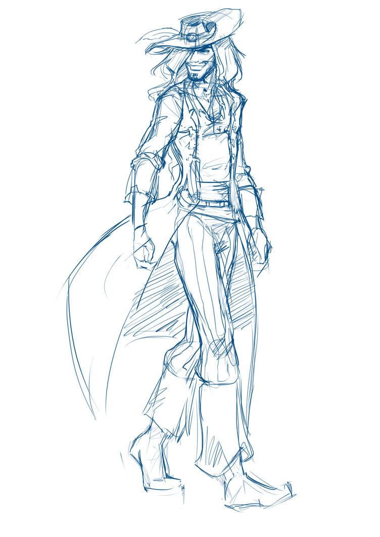 Captain Jerod Duncan of The Dark Maiden by AdoraLynn