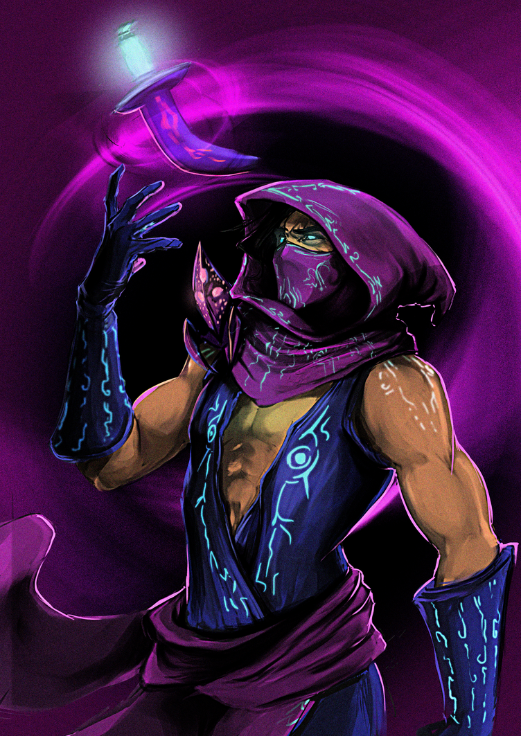 Fanart: The Prophet of the Void by AdoraLynn