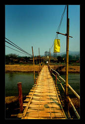Bamboo Bridge - Pai by sue-enfys