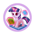 Filly badge series - Twilight Sparkle