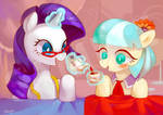Rarity and Coco