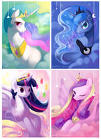 Princess series - all in one :D by amy30535