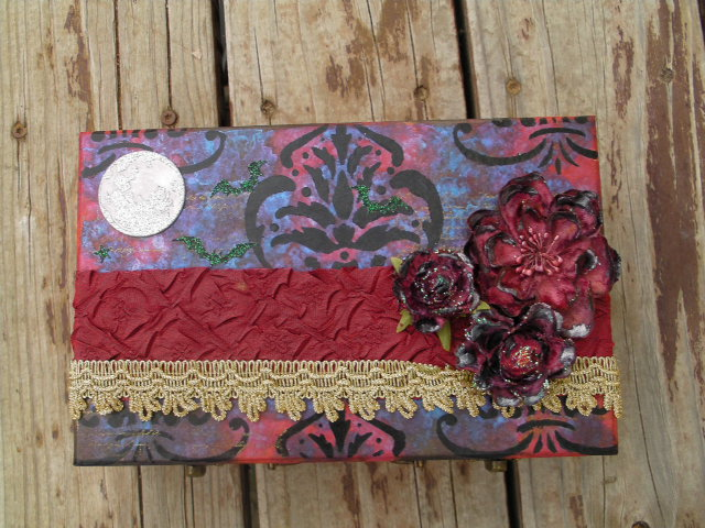 Twilight Inspired Keepsake Box by ZarineBashire