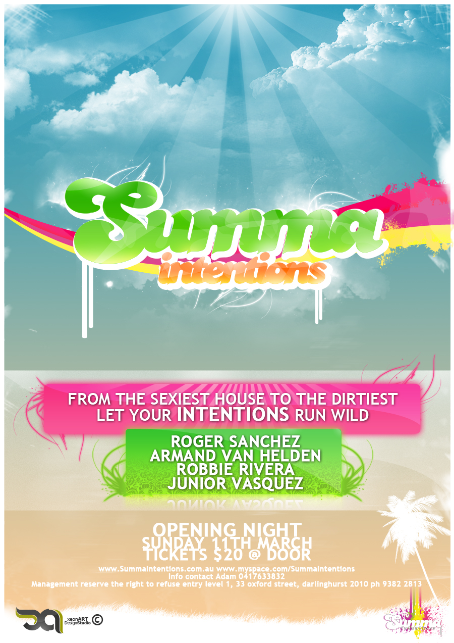 Summa Intentions Poster