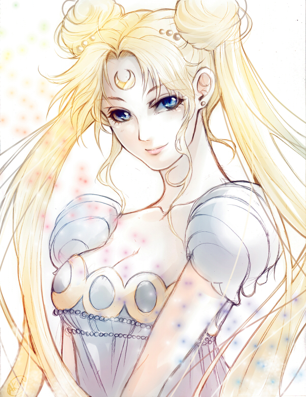 Moon Princess Serenity by tatouji