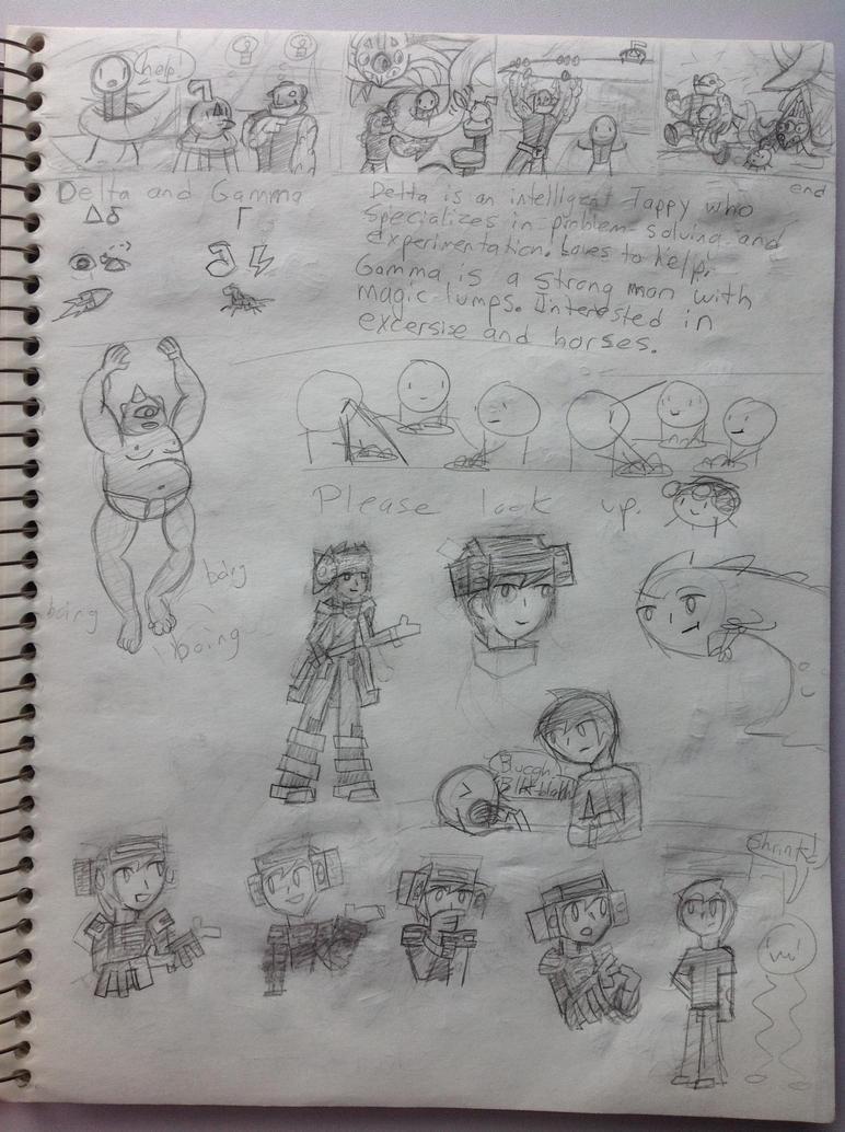 Sketchbook Part 3 by LimeGreenFlix