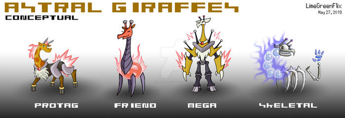 The Astral Giraffes