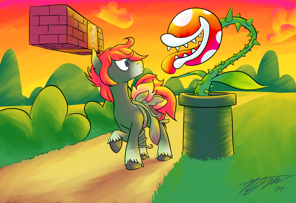 Commission Plant Pony by LoosePopcorn