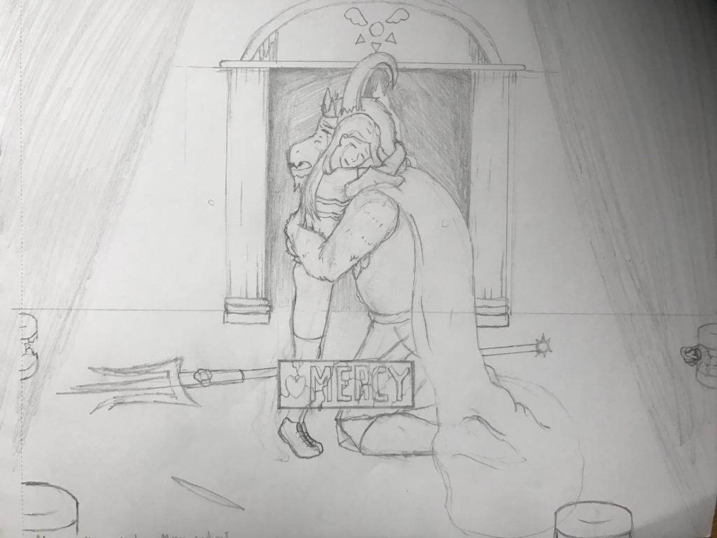 Mercy Sketch by jairartis