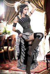 Steampunk Rin by liechidori