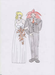 A Wedding- contest entry by fan-of-a-thousand