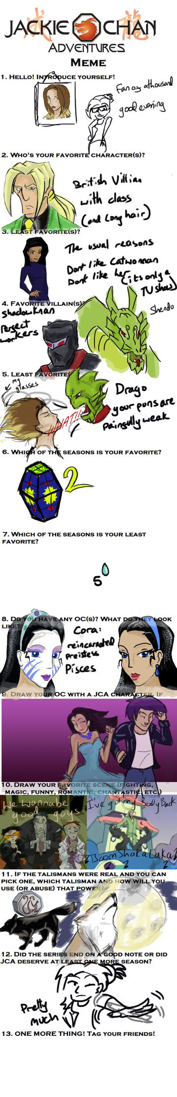 Jackie Chan Adventures meme by fan-of-a-thousand