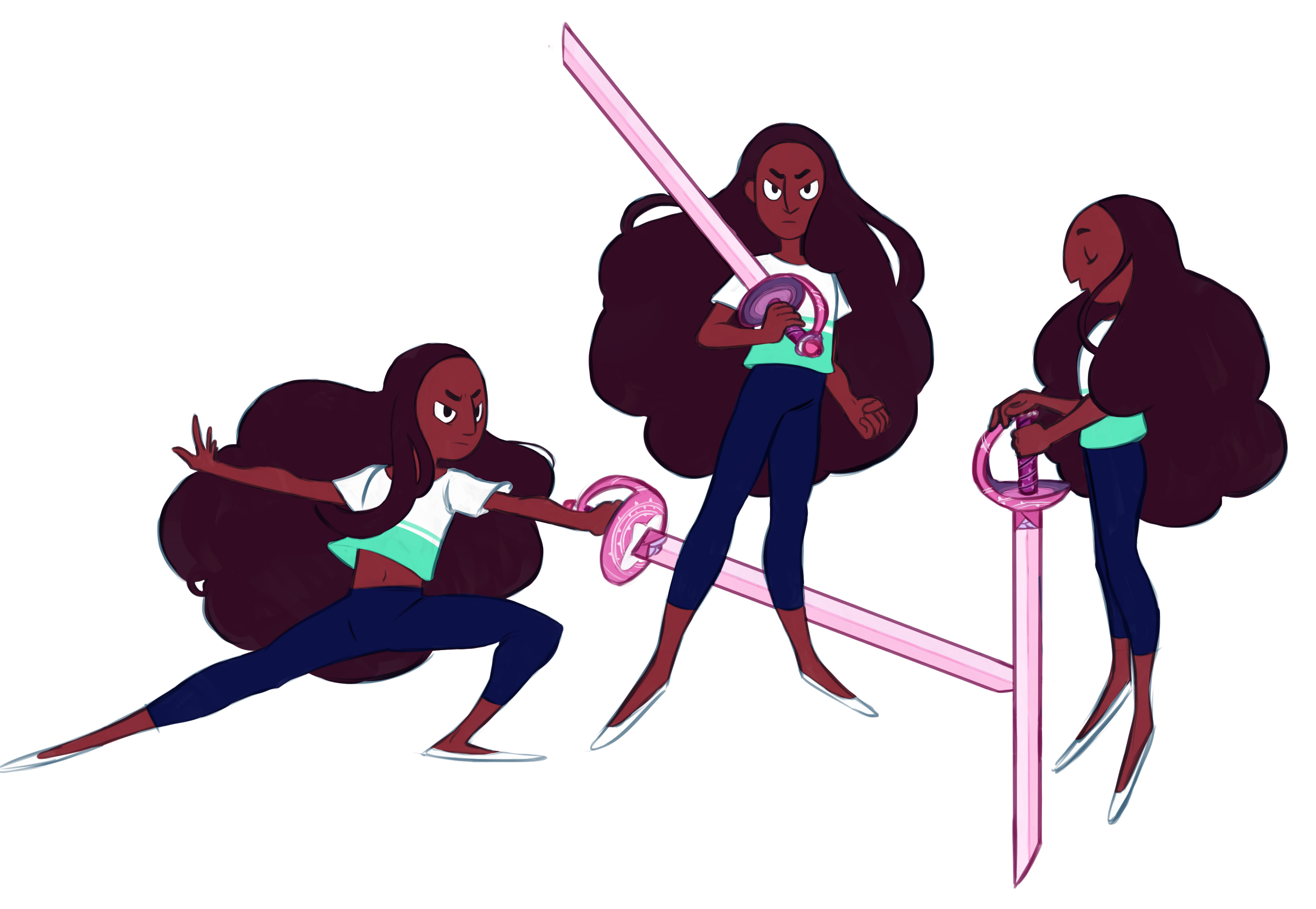 Connie Sword Fighter by JICheshire