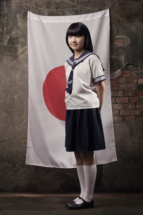 High school student during japanese era in Taiwan by korbas