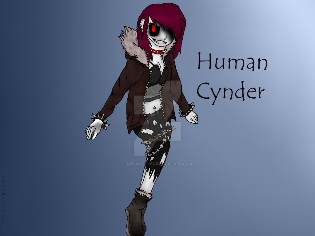 Human Cynder  by IcessWolves