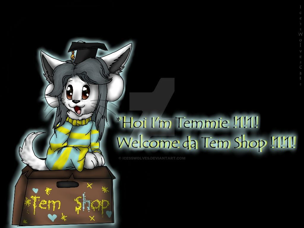Hoi Im Temmie  by IcessWolves