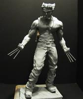 Logan Wolverine Maquette Statu by mycsculptures
