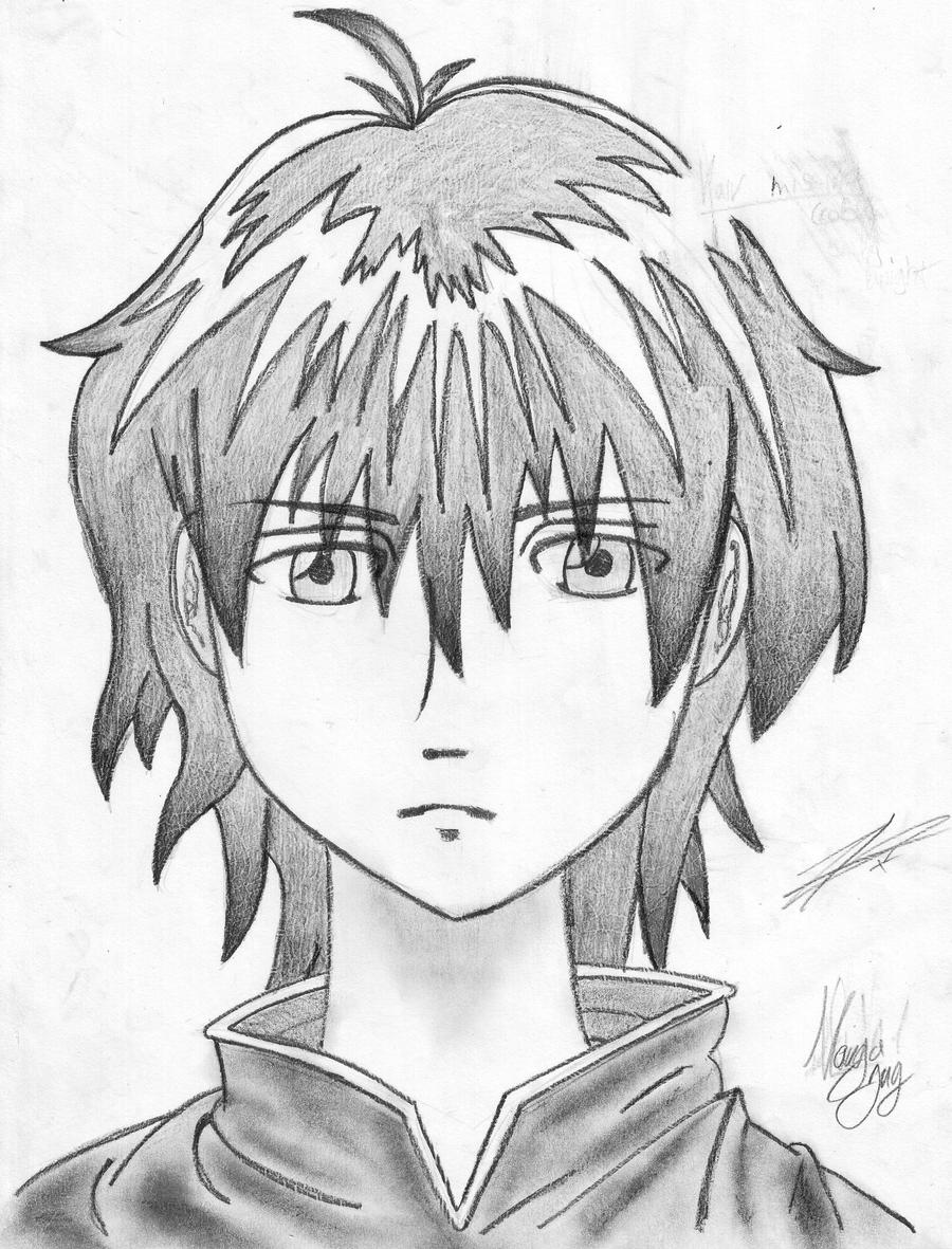 Simple manga face by alleycat zd on deviantart - Image de manga facile ...
