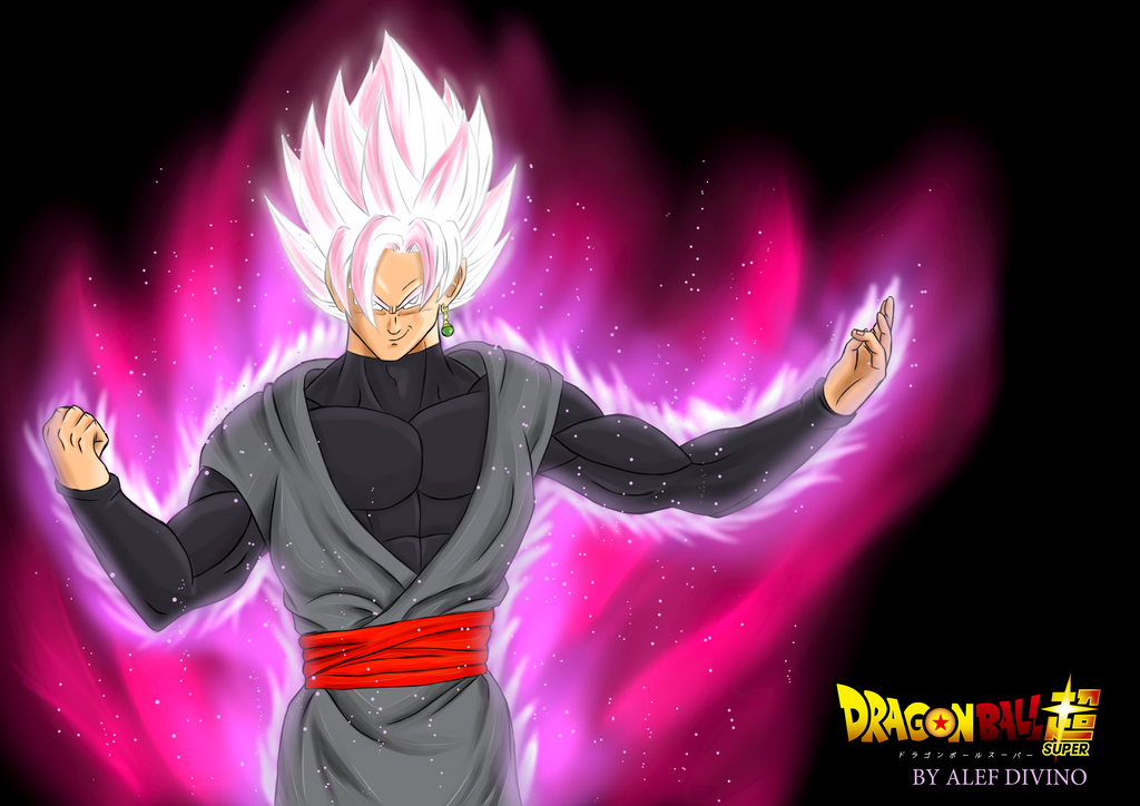 Super Saiyan Rose Goku Black Wallpaper: AlefD (Alef Divino)