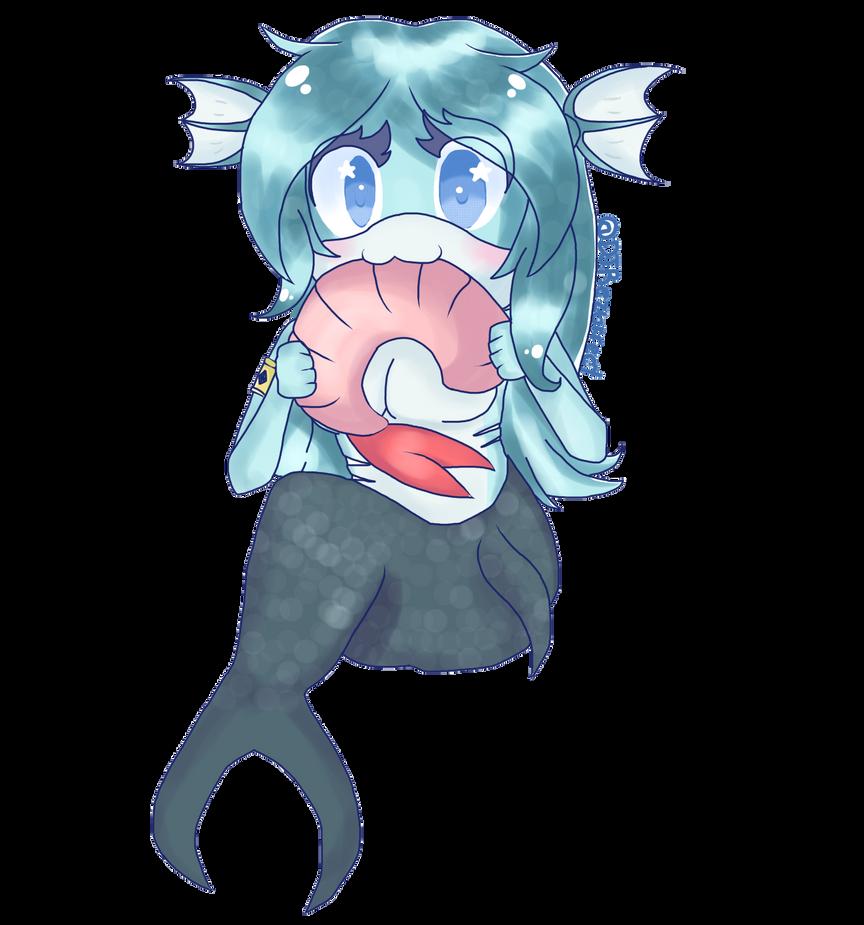 :R: Seleana eating a Shrimp by DJRezurrect